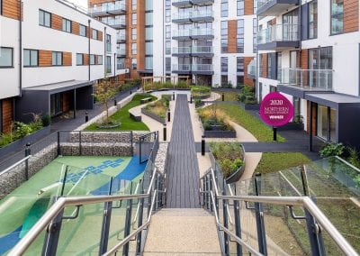 Blyth Road Roof Gardens (The Stylus), Hayes, London