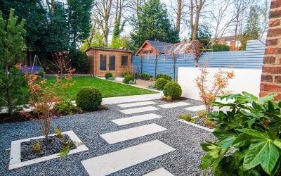 Luxury garden design complete