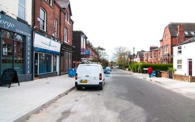 Heaton Moor Street Improvements – LATEST