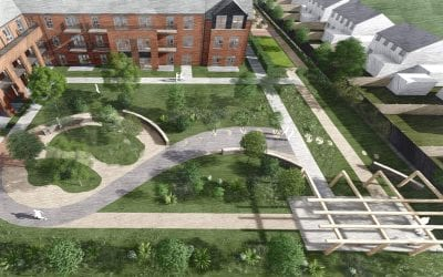 PLANNING APPROVAL FOR WOODPECKER CLOSE EXTRA CARE SCHEME, SAUGHALL MASSIE